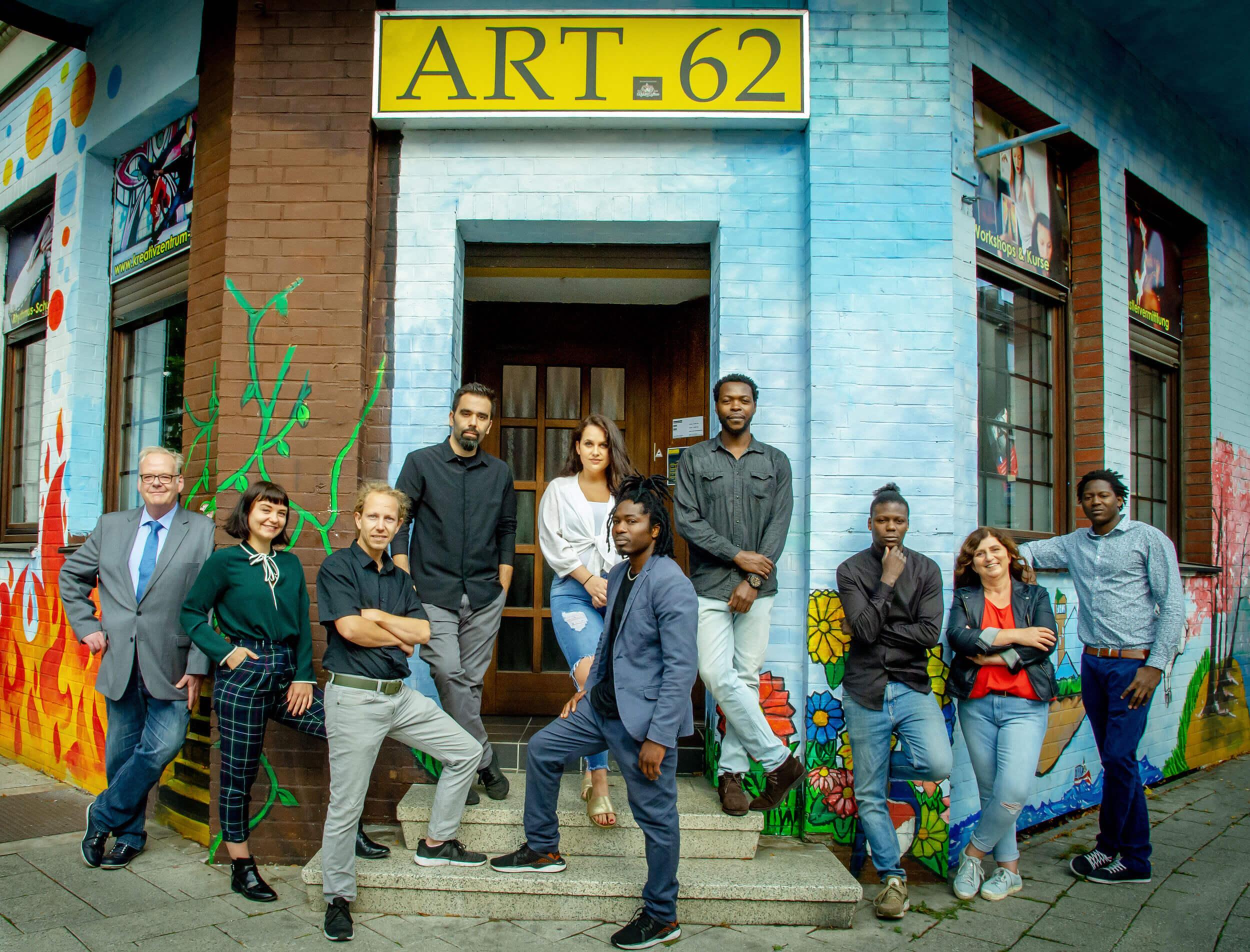Team des Kreativzentrums Vest